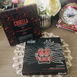 Cruella DeVil Collection Makeup Set by Colourpop